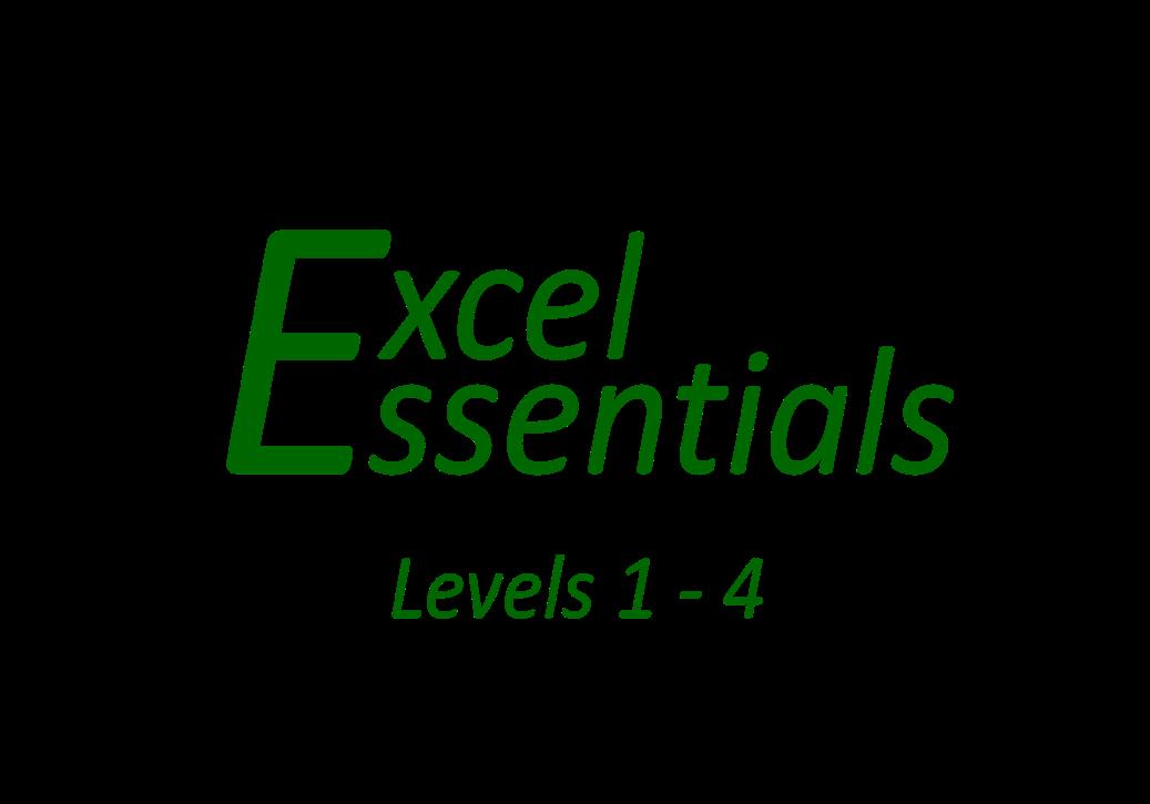 Excel Essentials - Levels 1 - 4 direct download