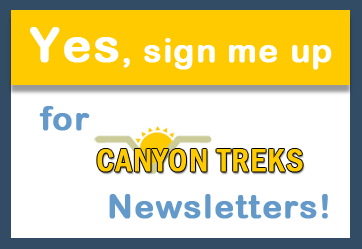 Canyon Treks signup